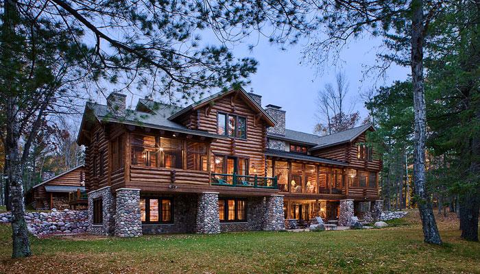Elk Lake Town Country Cedar Homes