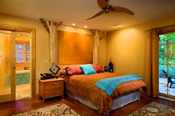 Black bear cottage a writer 39 s retreat durango log homes - The writers cottage inspiration by design ...