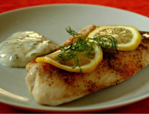 Cedar-Planked Whitefish With Chimichurri Recipe — Dishmaps