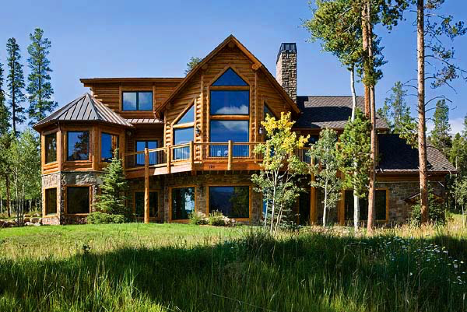 Catching the vision for your custom log home town for Unique log homes
