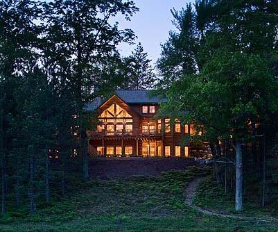 Custom design build cedar home