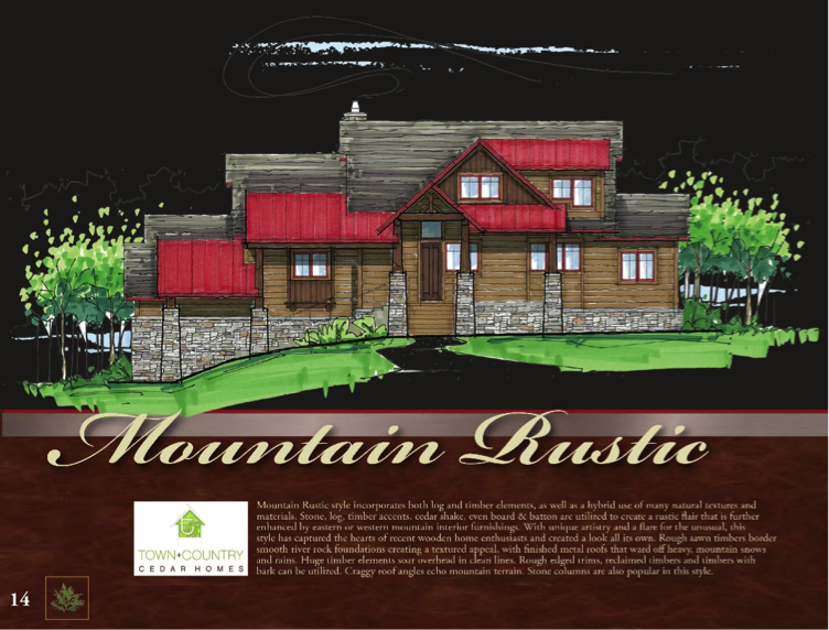 Lakota Lodge Log Home Floorplan