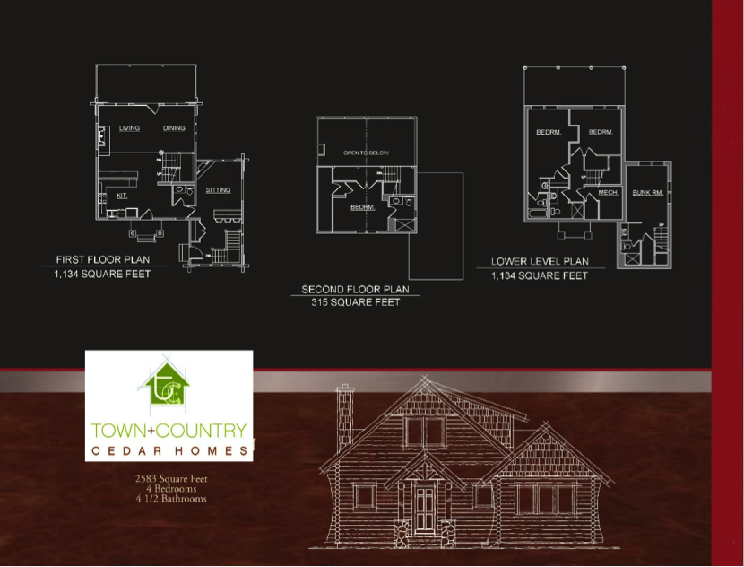 Boyne log home floorplans
