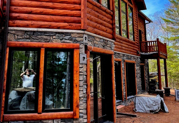 Cedar Home Selfie