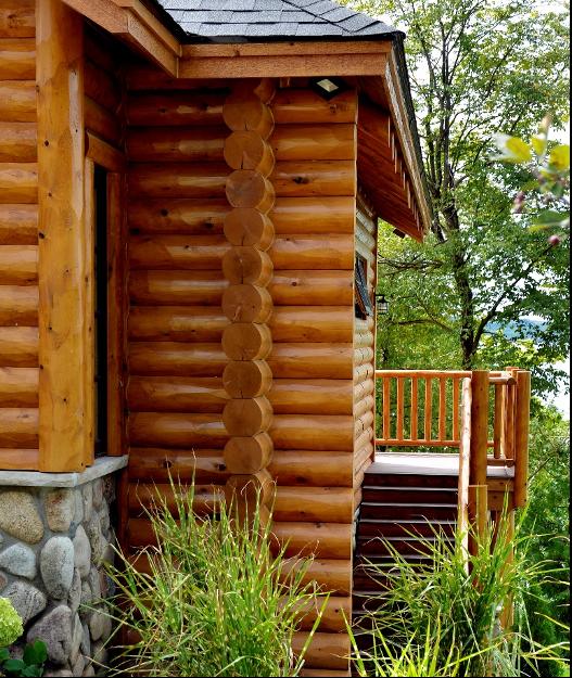 Northern Michigan Custom Log Home